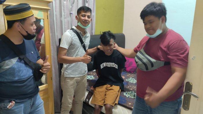 AH warga Tanjung Laut diringkus Polres Bontang bersama Jatanras Polda Kaltim, TRIBUNKALTIM.CO, ISMAIL USMAN