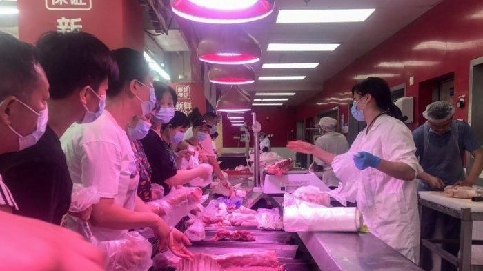 HEBOH CORONA Muncul Lagi di Wuhan, Tes Covid Besar-besaran Digelar, Warga Panik & Serbu Supermarket