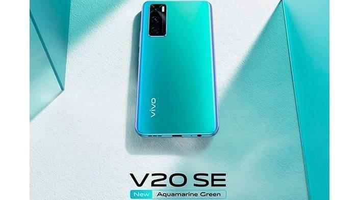 Miliki Layar 6,44 inci dan Baterai Berkapasitas 4.100 mAh, Spesifikasi Vivo V20 SE Aquamarine Green