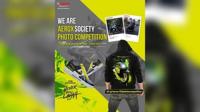 We Are Aerox Society Photo Competition, Event Fantastis Buat Seluruh Pemilik Yamaha Aerox