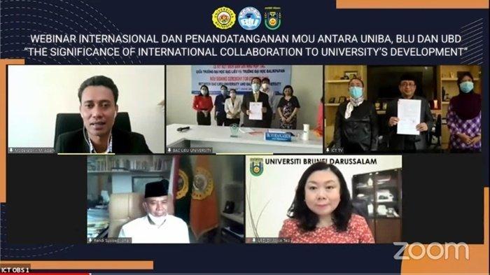 Uniba Balikpapan Teken Kerja Sama Internasional dengan BAC Lieu University Vietnam