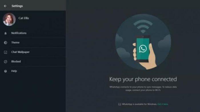 WhatsApp Web Anda Belum Dirubah Jadi Dark Mode atau Mode Gelap, Ini Cara Mudah Merubahnya