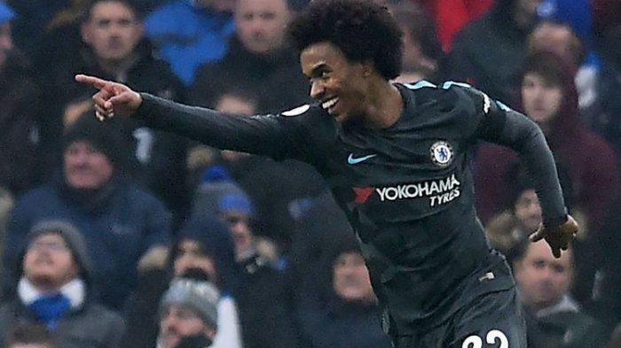 Hazard Cetak Gol Ke-101, Chelsea Menang Telak atas Brighton!
