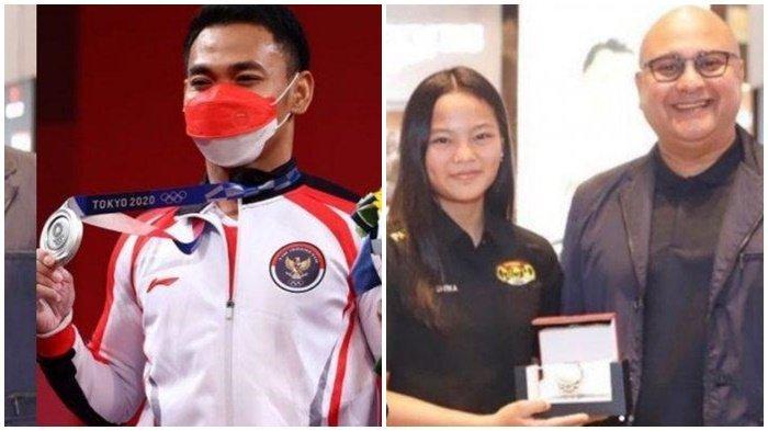 Irwan Mussry Beri Hadiah Mewah untuk Windy dan Eko Yuli Irawan Peraih Medali Olimpiade Tokyo
