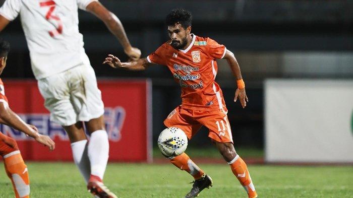 Rifal Lastori  Merendah Meski Tuai Pujian, Winger Borneo FC Ini tak Mau Kalah Dari Arema FC