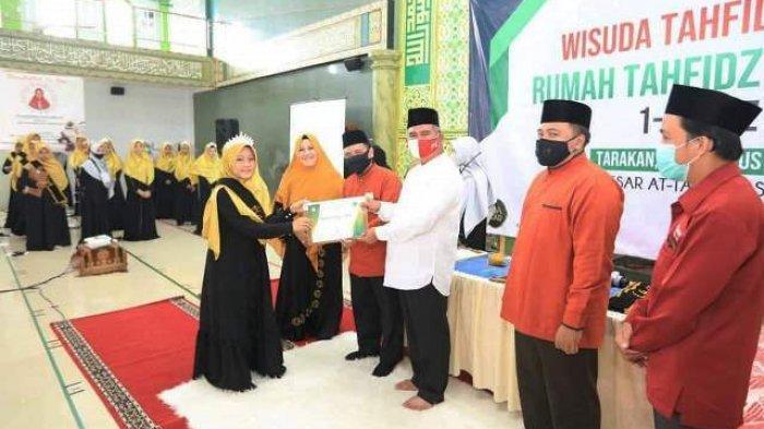 Wisuda 53 Tahfidz Az-Zikri Tarakan Turut Dihadiri Walikota Khairul