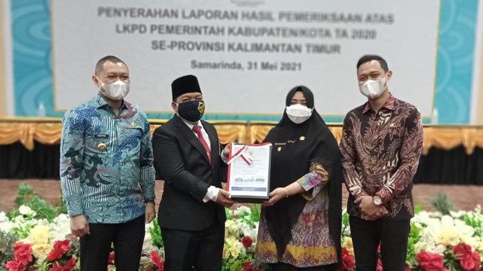 Untuk ke-7 Kalinya Secara Berturut-turut, Kabupaten Paser Raih Predikat WTP dari BPK