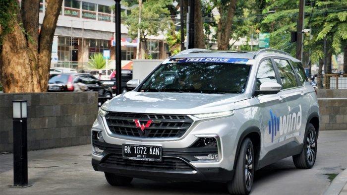 Mengaspal di Kaltim, Wuling Almaz Miliki Smart Technology SUV dengan Beragam Fitur Modern