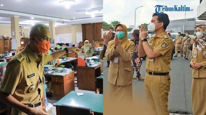 Gibran Marah Besar Saat Sidak ke SMA di Surakarta, Ganjar Pranowo: Galak Sedikit Nggak Apa-apa