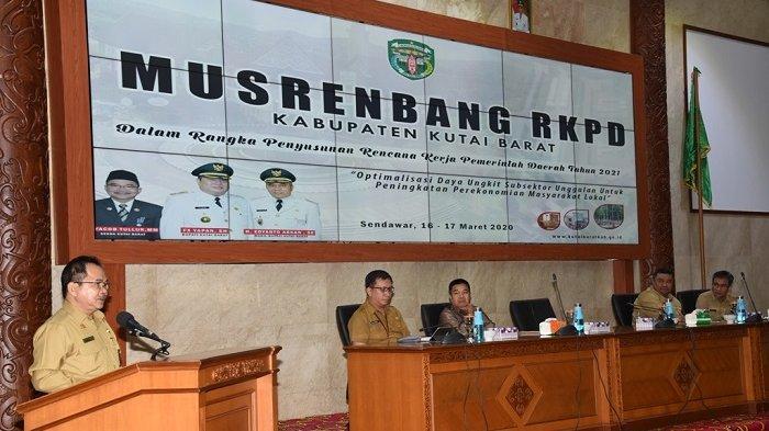 400 Peserta Ikuti Musrenbang RKPD, Pertegas Sasaran Prioritas Pembangunan Kubar 2021