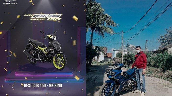 Sabet Best of Cub 150 CC dari Otomotif Award, Yamaha MX King 150 Motor Bebek Terbaik di Kelasnya!