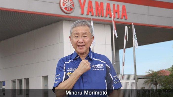 President Director & CEO PT Yamaha Indonesia Motor Manufacturing (YIMM), Minoru Morimoto.