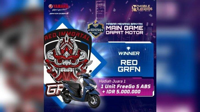 Mobile Legend Yamaha Generasi 125 E-Sports Competition 2021 Sukses Digelar, Berikut Daftar Juaranya