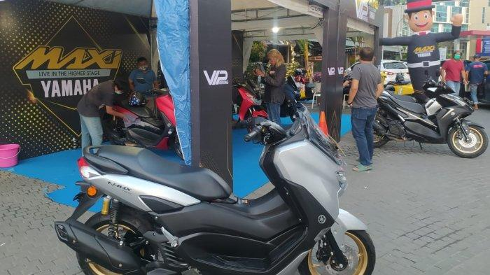 Bagi pengguna Yamaha MAXi Series disiapkan tempaty VIP Parkir di area e-Walk Balikpapan Superblock (BSB).