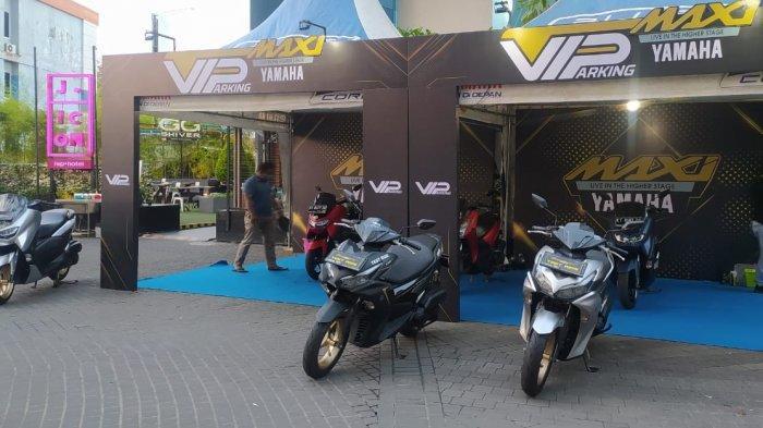 Cuma Yamaha MAXi Series yang Bisa Begini! Dapat VIP Parkir di e-Walk BSB