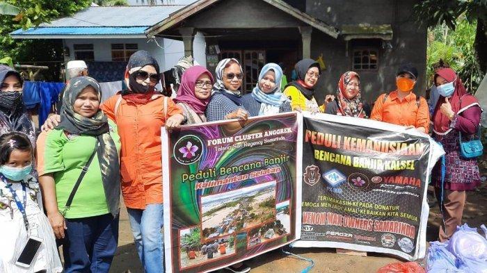 Yamaha Support Venom Max Owners Samarinda Peduli Korban Banjir di Kalimantan Selatan