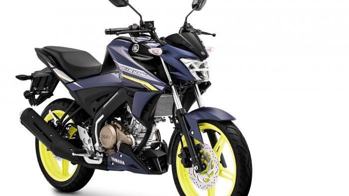 Yamaha memperkenalkan Vixion warna Matte Blue