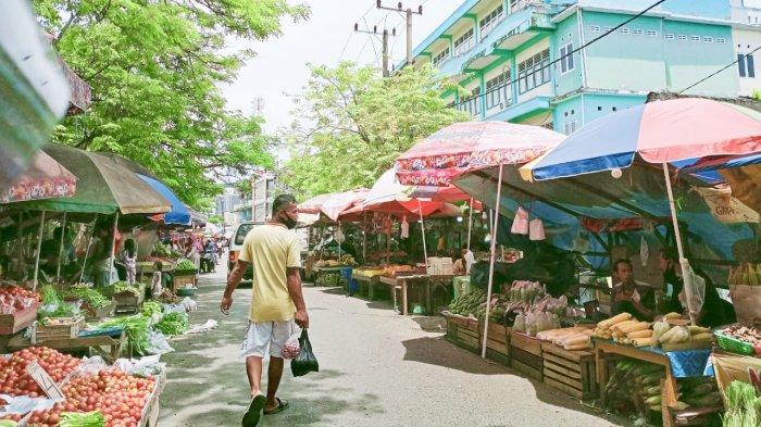 Pedagang Pasar Pandansari Mengeluh ke Walikota Balikpapan, Omzet Turun, Kalah Bersaing dengan PKL