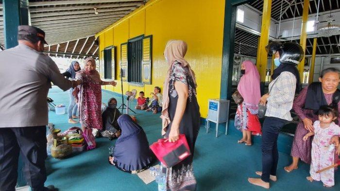 Posko Musibah Kebakaran Didirikan, Tepat di Masjid Tua Samarinda Seberang