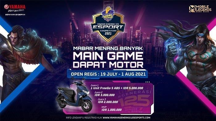 Asah Kemampuan Generasi Muda, Yamaha Indonesia Gelar Yamaha Generasi125 E-Sport Competition 2021