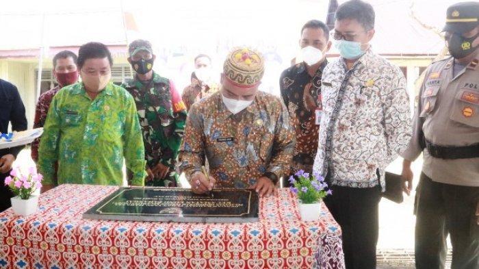 Wujudkan Pelayanan Publik Berkualitas, Wakil Bupati Yohanes Resmikan Kantor PATEN di Long Pahangai