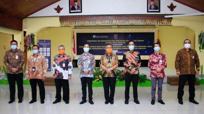 Resmikan QRIS, Bayar Pajak dan Retribusi di Tarakan Kalimantan Utara Kini Pakai Non Tunai