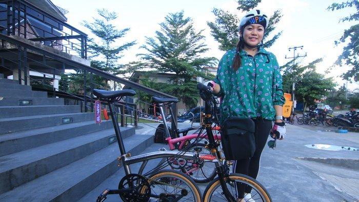 Brompton Lagi Tren, Begini Pengakuan Pemilik 3 Sepeda Sultan saat Gowes dari Balikpapan ke Samboja