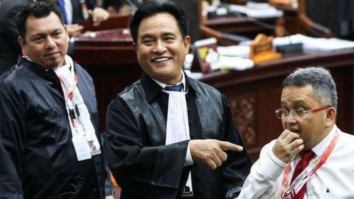 Yusril Ihza Mahendra: Seluruh Dalil Gugatan Prabowo-Sandi Lemah dan Mudah Dipatahkan