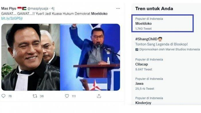 Bantu Moeldoko Gugat AD/ART Partai Demokrat, Kubu AHY Langsung Bereaksi Serang Yusril Ihza Mahendra