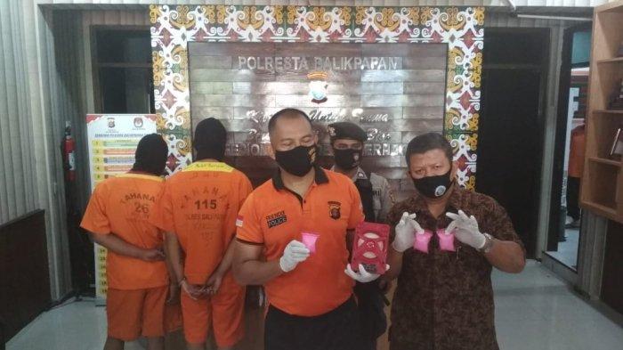 Polresta Balikpapan Ringkus 2 Pemuda Jaringan Narkotika, Polisi Kini Bidik Bos Utama Berstatus DPO