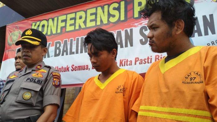 Dua Pemuda Spesialis Bobol Rumah di Balikpapan Selatan, Keduanya Mengaku Kompak, Sasar Rumah Kosong