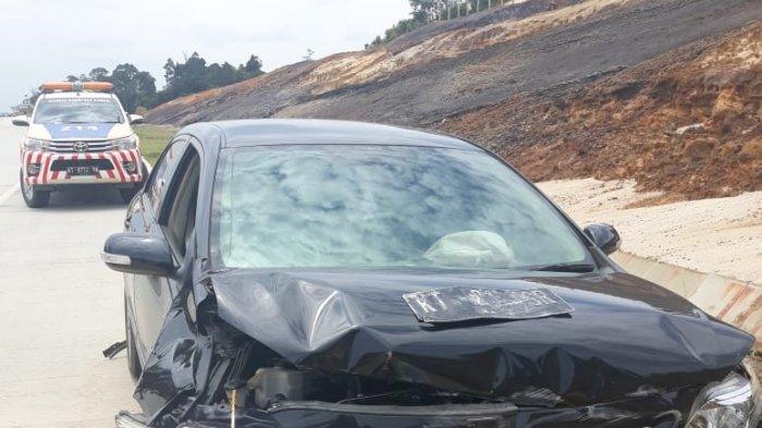 Kecelakaan di Tol Balsam, Jasa Marga Derek Mobil Eks Cawali Samarinda Zairin Zain, Beber Penyebabnya
