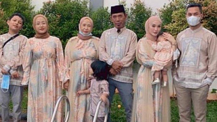 Potret Zaskia Gotik & Anak Imel Putri Cahyati Rayakan Lebaran Idul Fitri, Kemana SirajuddinMahmud?