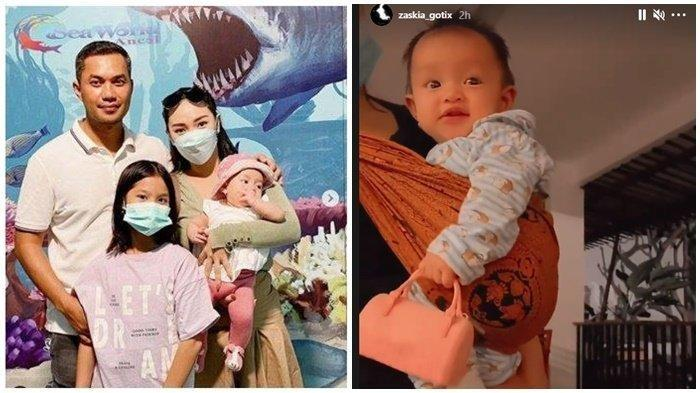 Aksi Lucu Arsila Disorot Zaskia Gotik, Mulut dan Bibir Anak Sirajuddin Mahmud Bikin Vega Gemas