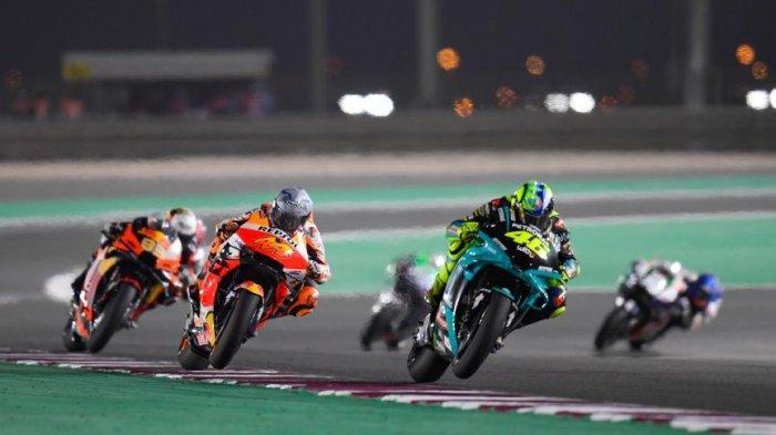 LENGKAP Jam Tayang & Jadwal MotoGP 2021, Live Trans7, Hasil FP1 & FP2 MotoGP Doha, Rossi Tercecer!