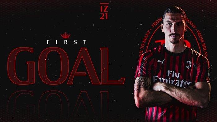 Hasil Liga Italia Duet Zlatan Ibrahimovic dan Rafael Leao Bawa AC Milan Menang di Markas Cagliari