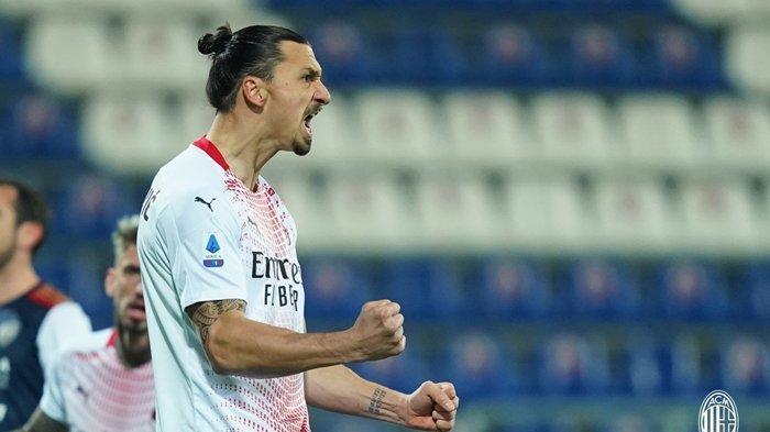 Update Liga Italia - AC Milan Pasrah, Ibrahimovic Kembali Buat Ulah, Inter Sindir Soal Treble Winner