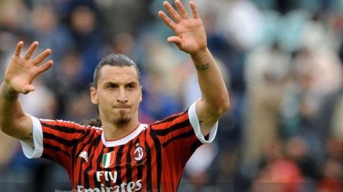 Link Live Streaming TV Online Cagliari vs AC Milan, Pembuktian Duet Zlatan Ibrahimovic - Rafael Leao