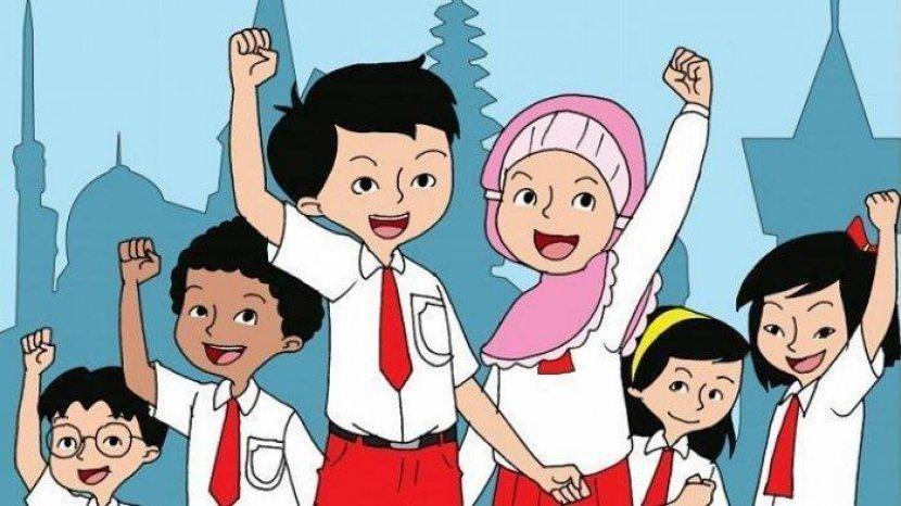Gambar Nelayan Animasi Untuk Anak Sd Lengkap Kunci Jawaban Tema 6 Kelas 5 Sd Halaman 106 112 Buku Tematik Kehidupan Nelayan Indonesia Tribun Kaltim