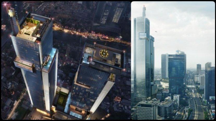 Pecah Rekor Thamrin Nine Gedung Tertinggi Di Indonesia 382 9 Meter Lampaui Empire State Building Tribun Kaltim