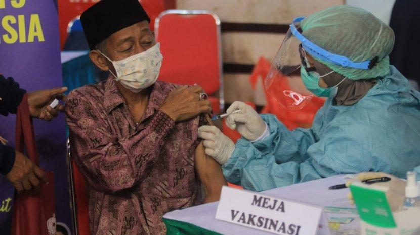 Jelang Lebaran Idul Fitri 2021 di Balikpapan, 80 Persen Imam dan Khatib Sudah Vaksinasi Covid-19