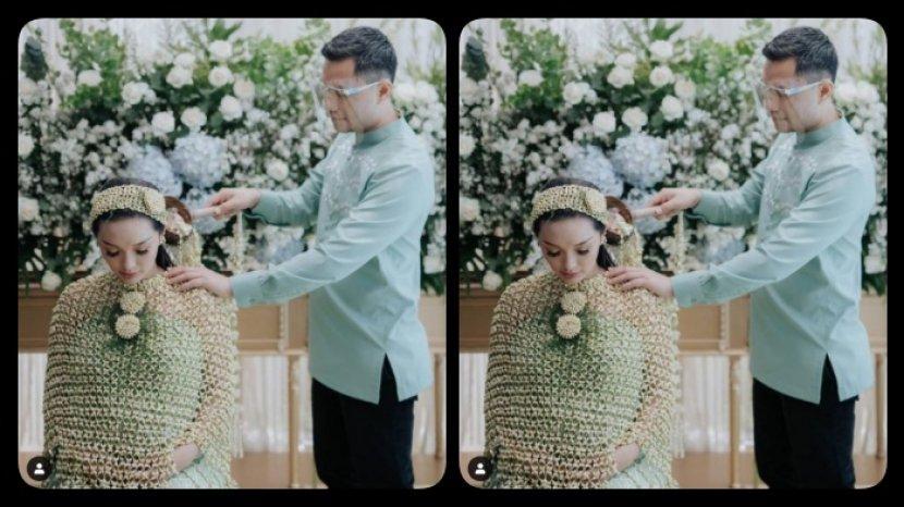 Zaskia Gotik Gelar Siraman 7 Bulan Kehamilan Ada Tudingan Hamil Duluan Reaksi Sirajuddin Mahmud Tribun Kaltim