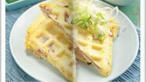 Cara Bikin Waffle Nasi Panggang Super Enak, Menu Sarapan Spesial dan Mengenyangkan