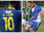 german-rivero-dan-ezechiel-ndouassel-calon-striker-arema-fc.jpg