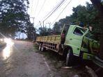 sebuah-truk-hijau-berplat-nomor-kt-8889-nj-menabrak-pohon.jpg