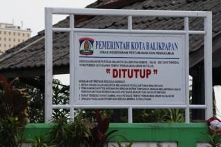DKPP Balikpapan Tutup Sembilan TPU