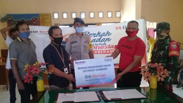 BNI Cabang Kupang Berbagi Berkah Ramadhan 2020