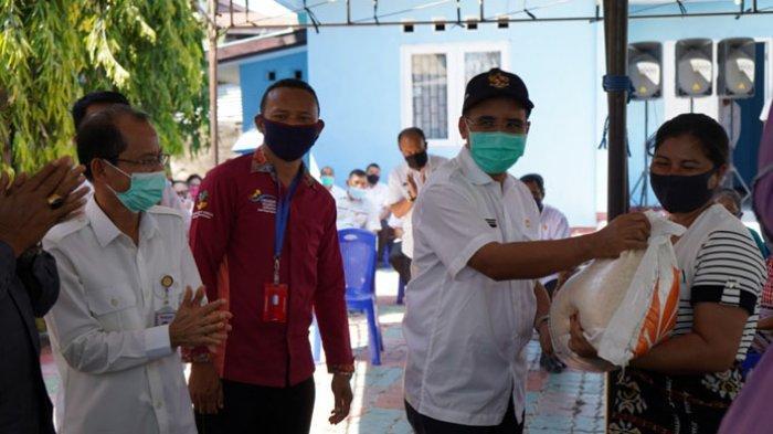 11.351 KPM Kota Kupang Terima Bansos Beras