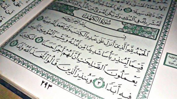 Surat Al Kahfi Ayat 1-10: Tulisan Arab, Latin,Terjemahan & Keutamaan Membacanya Pada Hari Jumat