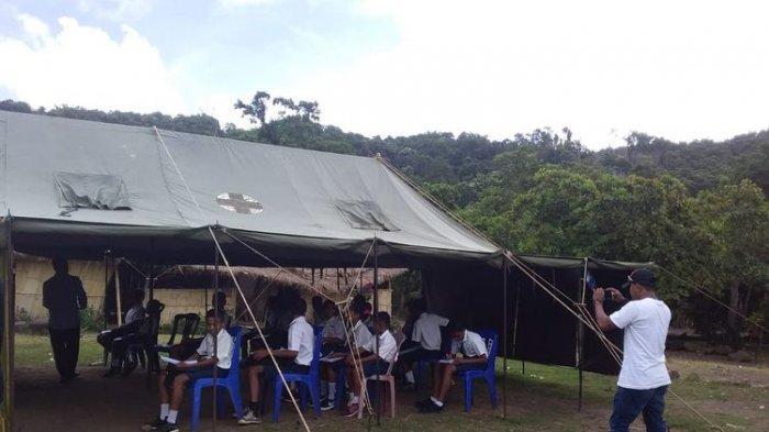 3 Tahun Belajar di Tenda Darurat, Siswa SMPN 3 Waigete Akhirnya Miliki Gedung Sekolah